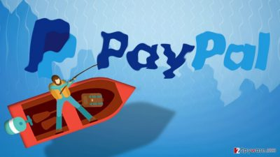 Image of the Paypal phishing scam