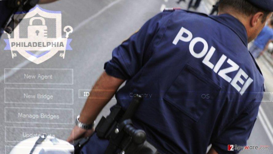 Austrian police arrest a 19-year-old Philadelphia distributor