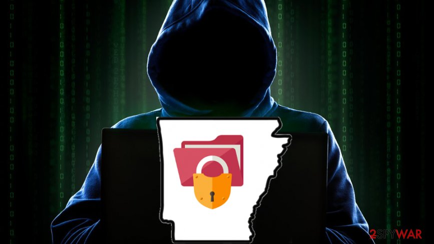 Ransomware attack in Arkansas