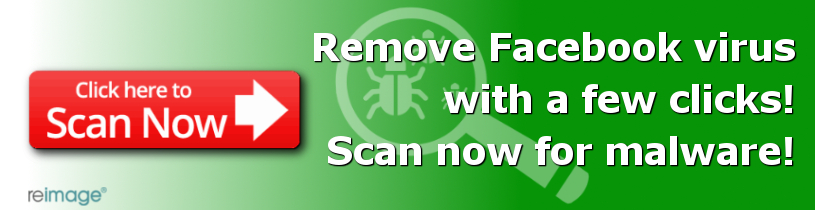 Remove Facebook virus