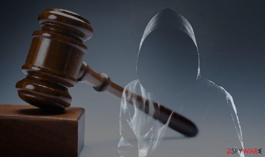 REvil gang represents stolen data auction