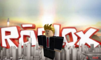 Roblox accounts hacked to support Trump
