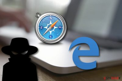 Safari and Edge browsers infected by a spoofing bug