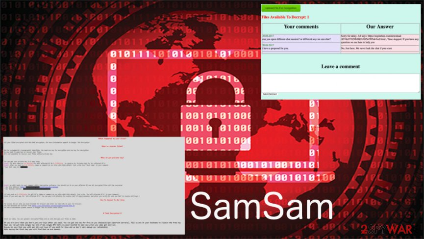 SamSam ransomware gained $6 million