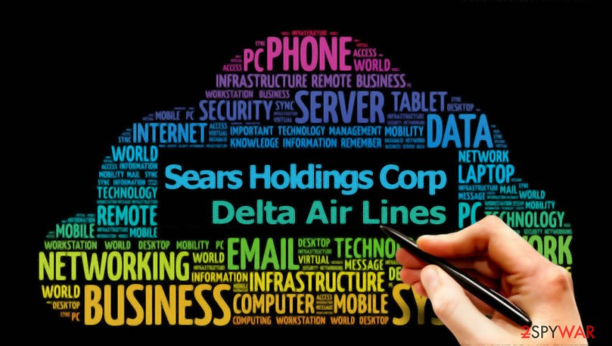 Sears Holdings and Delta Air lines affected by data breach