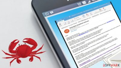 Sextortion scams spread ransomware