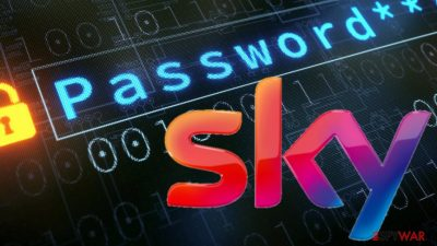 Sky locking accounts to reset users' passwords