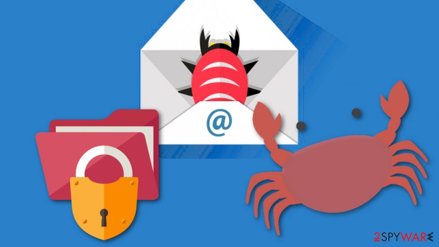 Spam campaigns pushing ransomware viruses