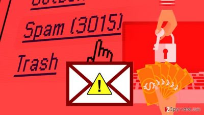 Phishing emails are often used to deliver ransomware.