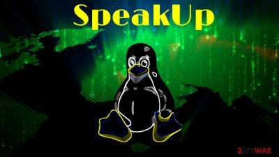 SpeakUp backdoor trojan