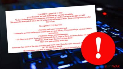 VFEmail system hacked: all data erased with no possibility of recovery