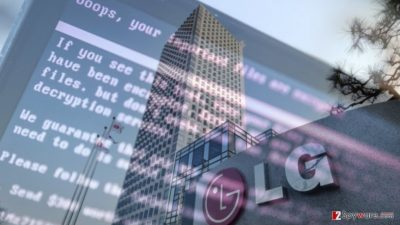 Suspicious ransomware attack hit LG Electronics