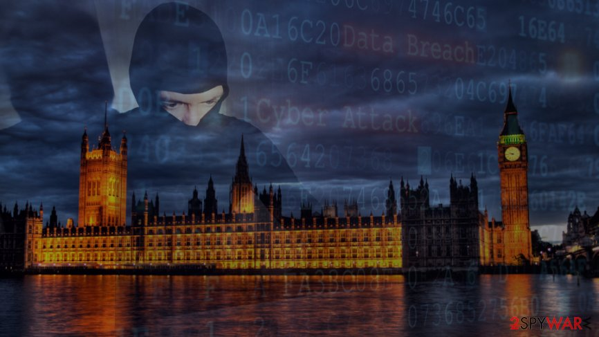 The British Parliament was hit by a cyber attack