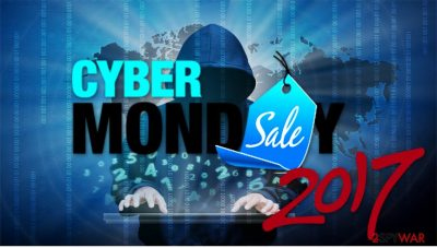 Cyber Monday 2017 can be used for phishing