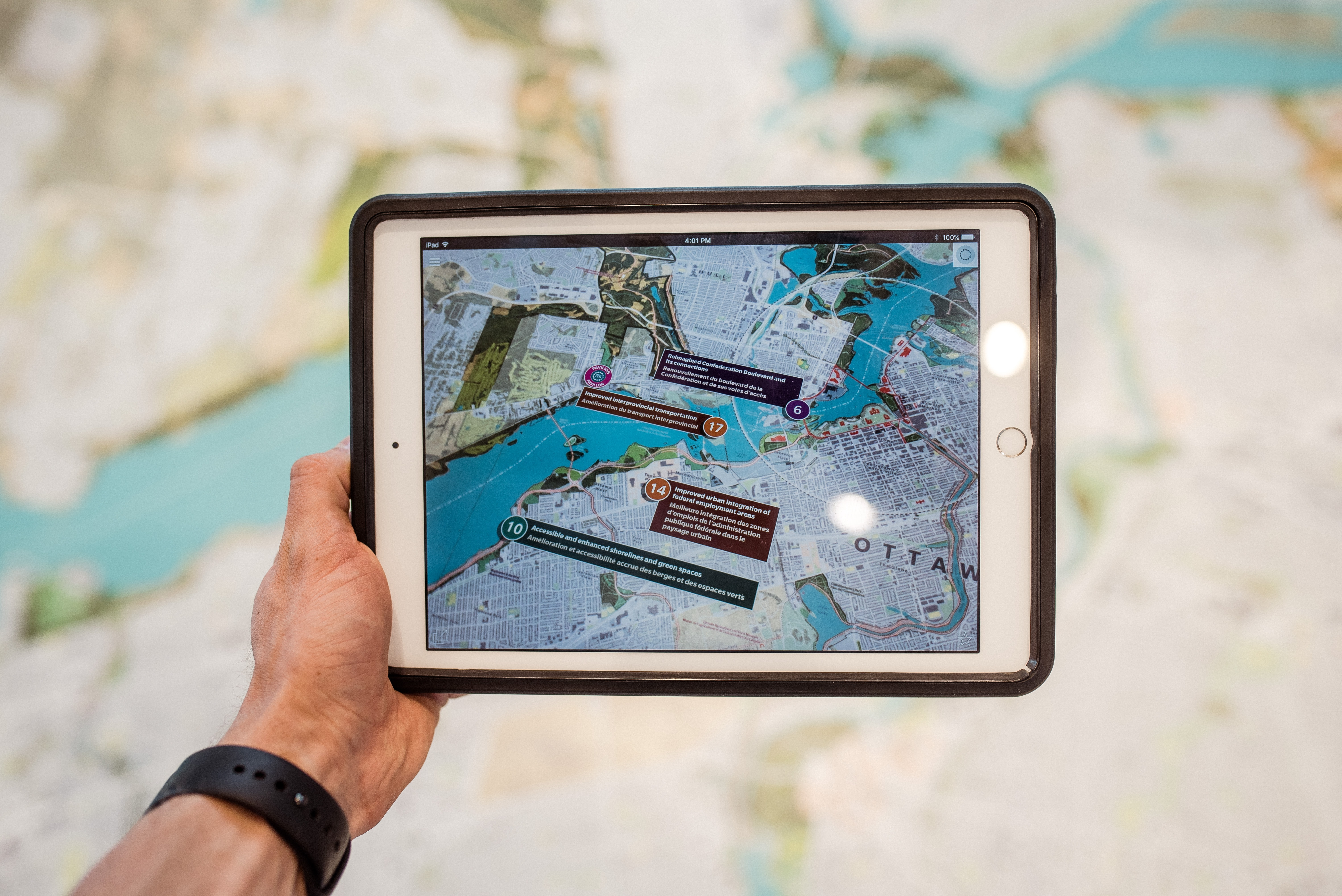 AR tools used in Maps