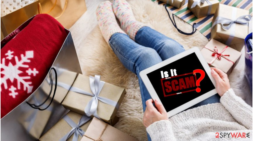 How to avoid online scams during Christmas