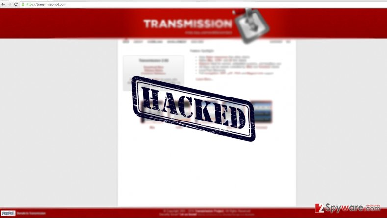 Malware on a rampage – Transmission gets hacked again