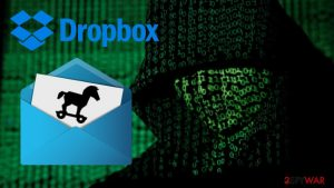 Fake Dropbox emails spread updated Trickbot malware