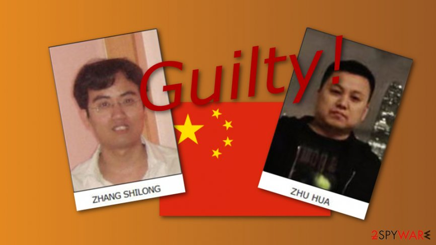 U.S.: Chinese hackers guilty for a worldwide hacking attempt