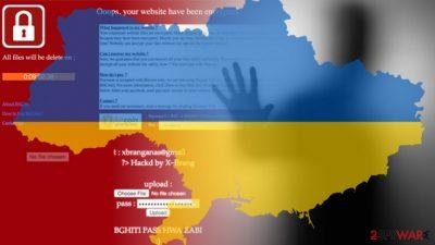 Ukraine's ministry of energy website hacked