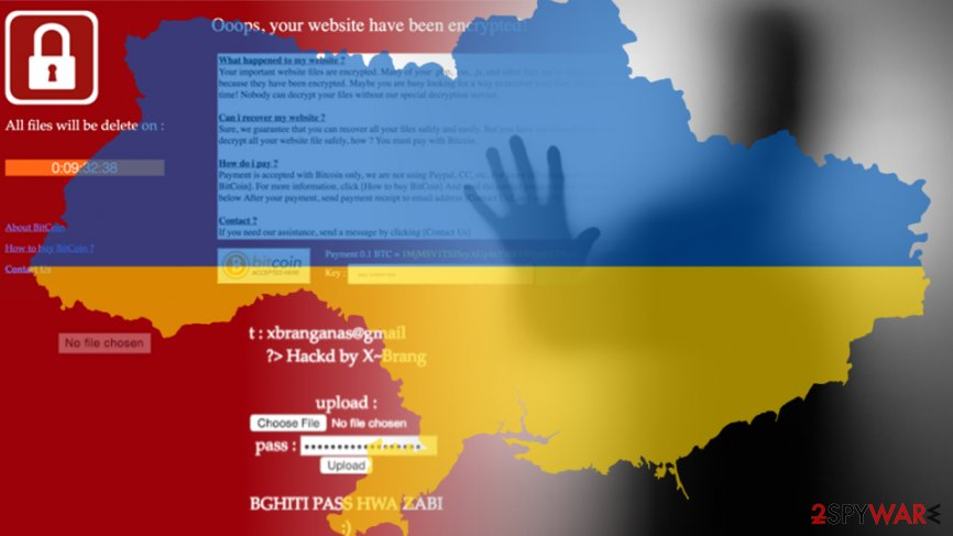 Ukraine's ministry of energy website hacked