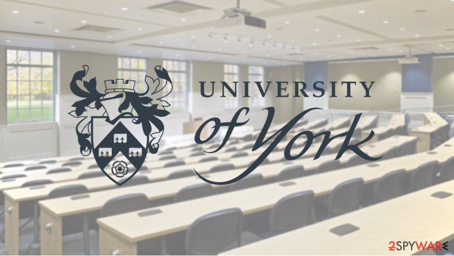 University of York data breach