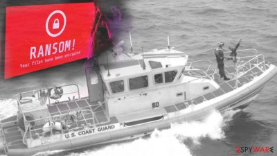 Marine safety alert informed about ransomware attack