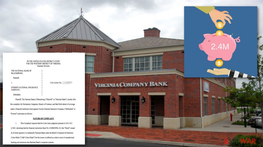 Hackers compromised a bank in Virginia twice in past eight months