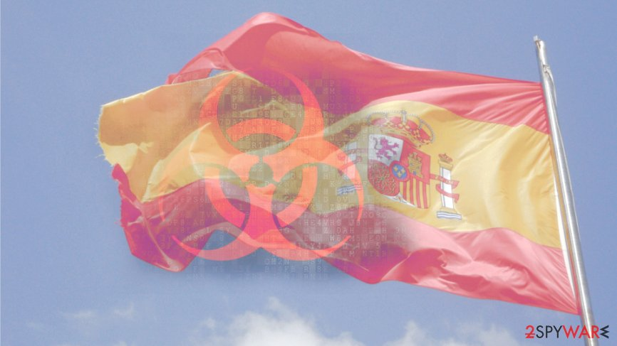 Ransomware hit two major companies in Spain
