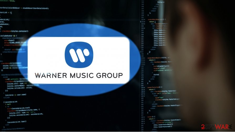 Warner Music Group has disclosed web skimming attack