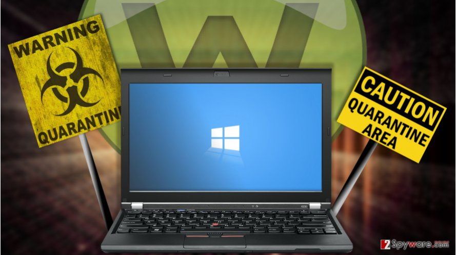 Webroot blocks Windows