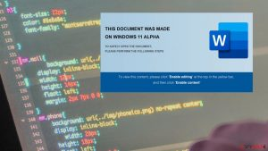Fin7 uses Windows 11 themed documents in a spear-phishing campaign