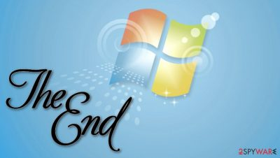 Microsoft ends the support for Windows 7