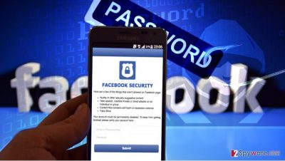 Phishing facebook activation pages