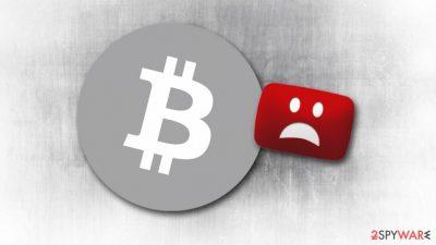 YouTube Bitcoin scam promotes predator Trojan