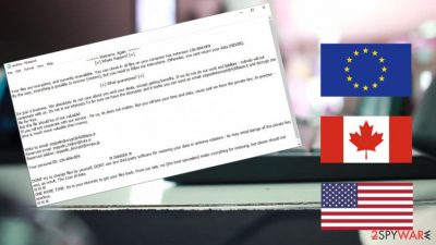 Zeppelin ransomware targets organizations in the US, Canada, Europe