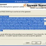 IC Spyware Scanner snapshot