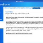 SpywareBlaster snapshot