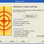 Yahoo Anti Spy snapshot