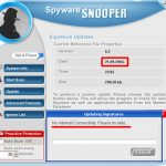 Spyware Snooper snapshot