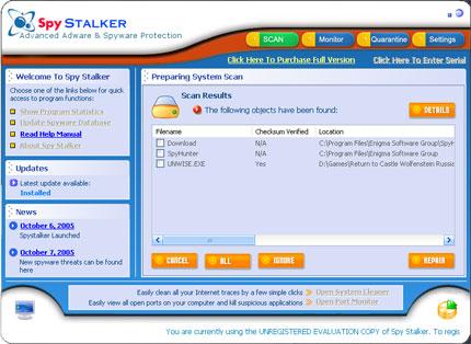 Spy Stalker snapshot