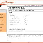 Agent Spyware snapshot
