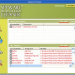 Spyware Cleaner Prevention and Cure snapshot