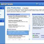 Spinach AntiSpyware snapshot