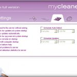 MyCleanerPC snapshot