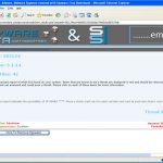 System Spyware Interrogator snapshot