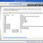 CyberDefender AntiSpyware 2006 snapshot