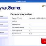 Spyware Stormer snapshot