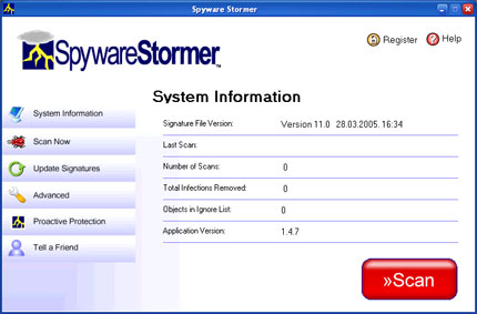spyware stormer gratis