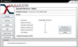 X-Spyware